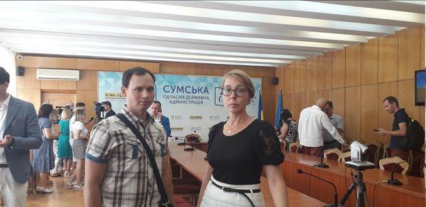 Будівельний факультет прийняв участь у нараді  Сумської облдержадміністрації.